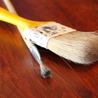 Small x2 maxpixel.freegreatpicture.com paint surface used handle brush paintbrush wooden 89004