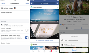 Email x1 facebook photo albums