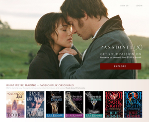 Email x1 passionflix welcome press