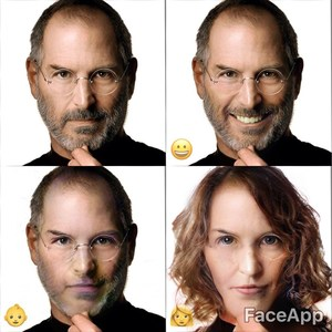 Email x1 faceapp