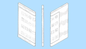 Email x1 samsung wraparound display patent sketches
