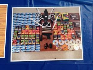 Email x1 drone prison smuggle contraband drugs