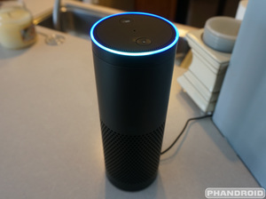 Email x1 amazon echo front blue
