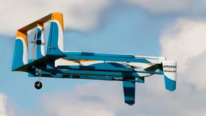 Email x1 study finds drones greener than trucks for deliveries of small packages