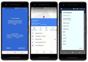 Email x1 google maps plus codes drop pin voice languages 1024x715